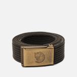 Ремень Fjallraven Canvas Brass 3cm Mountain Grey фото- 0