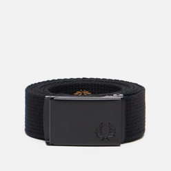 Ремень Fred Perry Slim Graphic Webbing Black