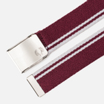 Ремень Fred Perry Twin Tipped Port/Snow White фото- 1