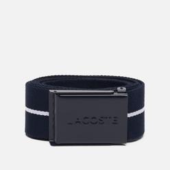 Ремень Lacoste Roland Garros Woven Navy Blue