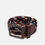 Barbour Ford Belt Navy Mix photo- 0