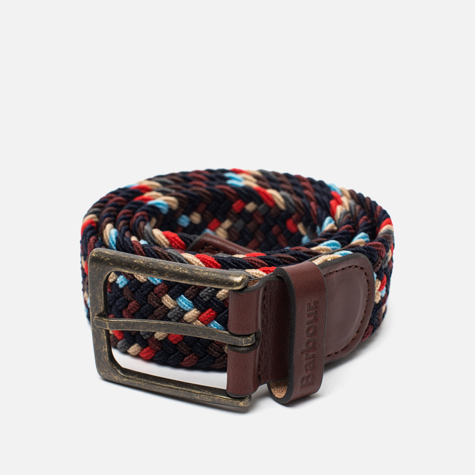 Barbour Ford Belt Navy Mix