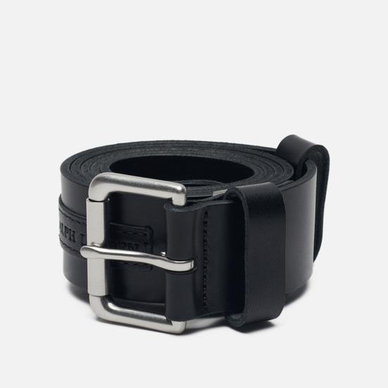Ремень Polo Ralph Lauren Roller Buckle Smooth Leather Black