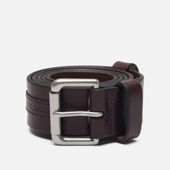 Ремень Polo Ralph Lauren Roller Buckle Smooth Leather Brown
