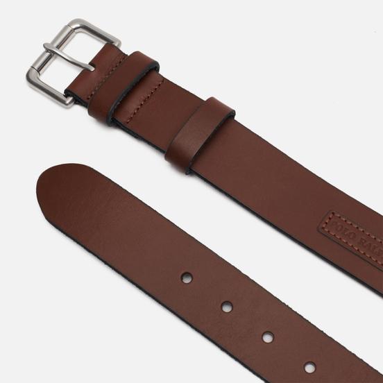 Ремень Polo Ralph Lauren Roller Buckle Smooth Leather Tan