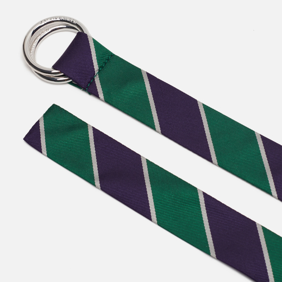 Ремень Polo Ralph Lauren Wimb Tie Sil Dress Casual Silk Green/Purple