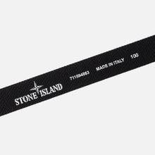 Ремень Stone Island Nylon Tape Black фото- 2