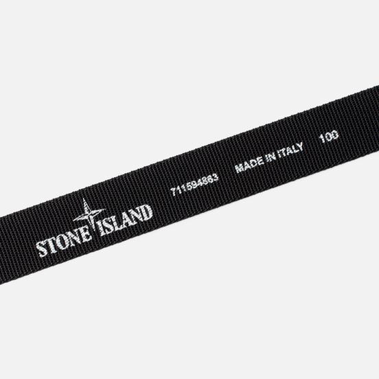 Ремень Stone Island Nylon Tape Black