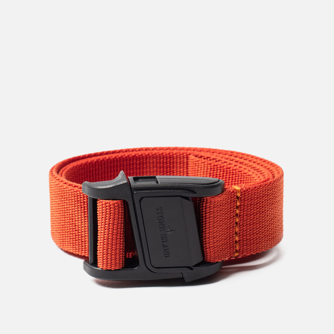Ремень Stone Island Nylon Tape Orange