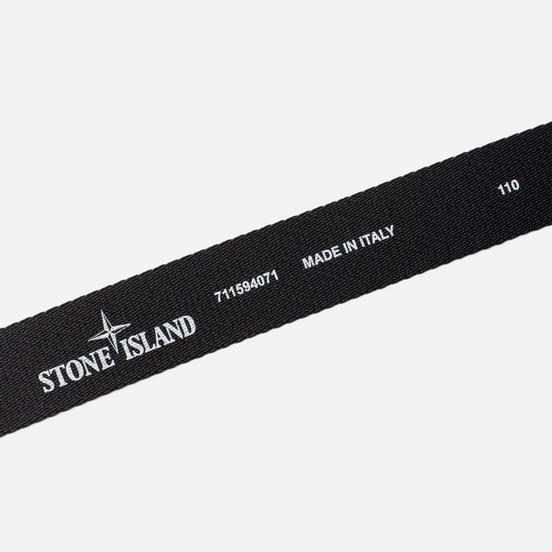 Ремень Stone Island Strong Nylon Strap 7115 Black