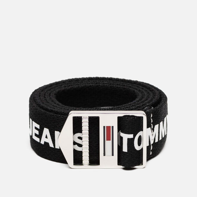 Ремень Tommy Jeans Explorer Logo 3.5cm Black/White