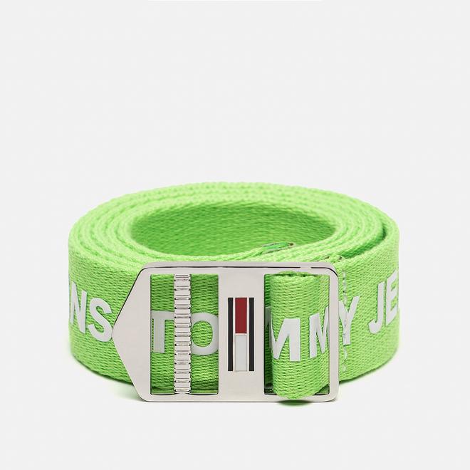 Ремень Tommy Jeans Explorer Logo 3.5cm Green Gecko