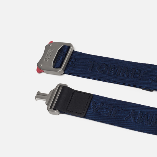 Ремень Tommy Jeans Fast Clip 3.5 Black Iris