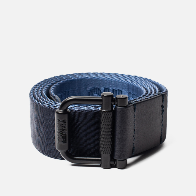 Ремень Tommy Jeans Roller Reversible Webbing Navy/Dutch Blue