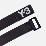 Ремень Y-3 3-Stripes Black/White фото- 1