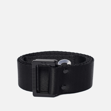 Ремень Y-3 Black Metal Buckle Black/White