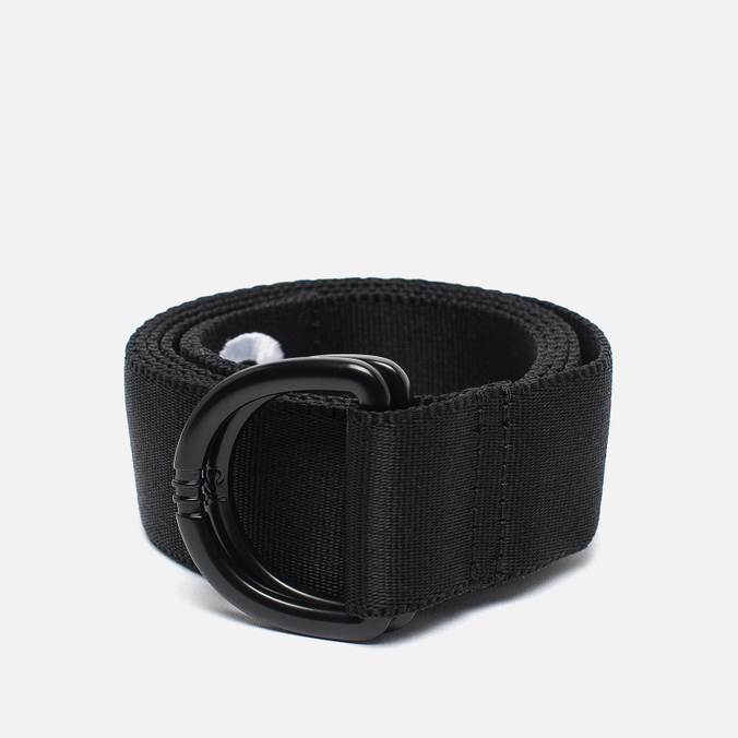 Y-3 Logo Belt Black