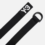 Y-3 Logo Belt Black photo- 1