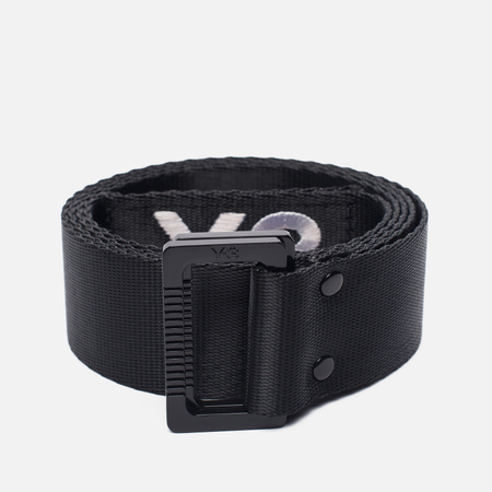 Ремень Y-3 Metal Buckle Black