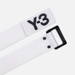Ремень Y-3 Metal Buckle White фото- 1