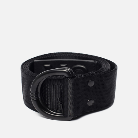 Ремень Y-3 Yohji Black Metal Buckle Black