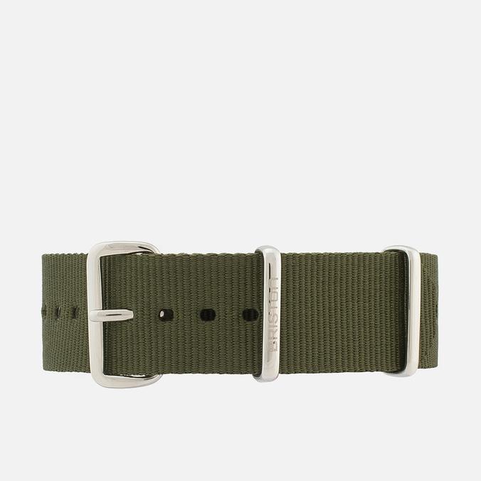 Briston NG20.GA Watch Strap Green Army