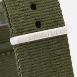 Briston NG20.GA Watch Strap Green Army photo- 2