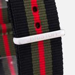 Ремешок для часов Briston NG20.GCB Black/Green/Red фото- 2