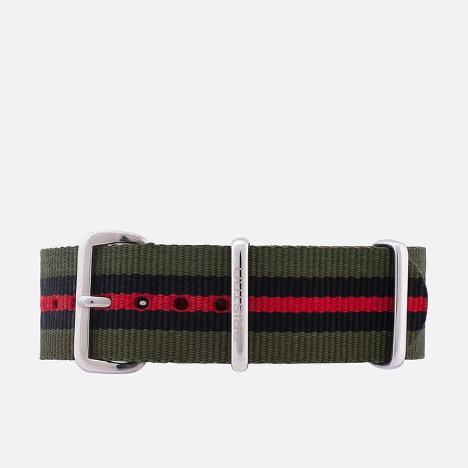 Ремешок для часов Briston NG20.GCV Green/Black/Red