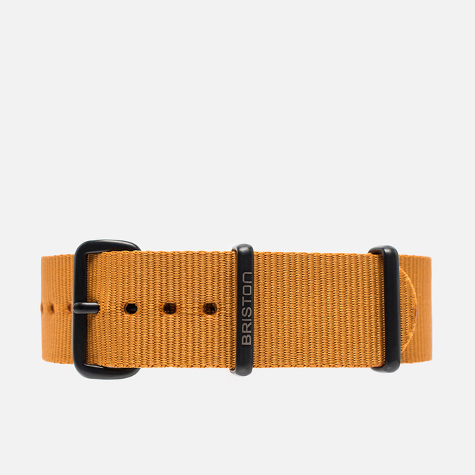Briston NG20.PVD.BR Watch strap Brown