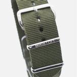 Ремешок для часов Briston NS20.GA Green Army фото- 1