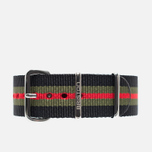 Briston NS20.GCB Watch strap Black/Green/Red photo- 0