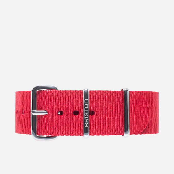 Briston NS20.R Watch Strap Red