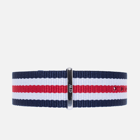Ремешок для часов Daniel Wellington Classic Canterbury 20mm Blue/White/Red/Silver