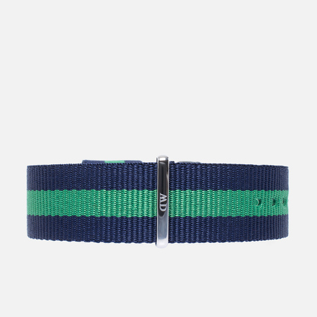 Ремешок для часов Daniel Wellington Classic Warwick 20mm Blue/Green/Silver