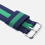 Ремешок для часов Daniel Wellington Classic Warwick 20mm Blue/Green/Silver фото- 2
