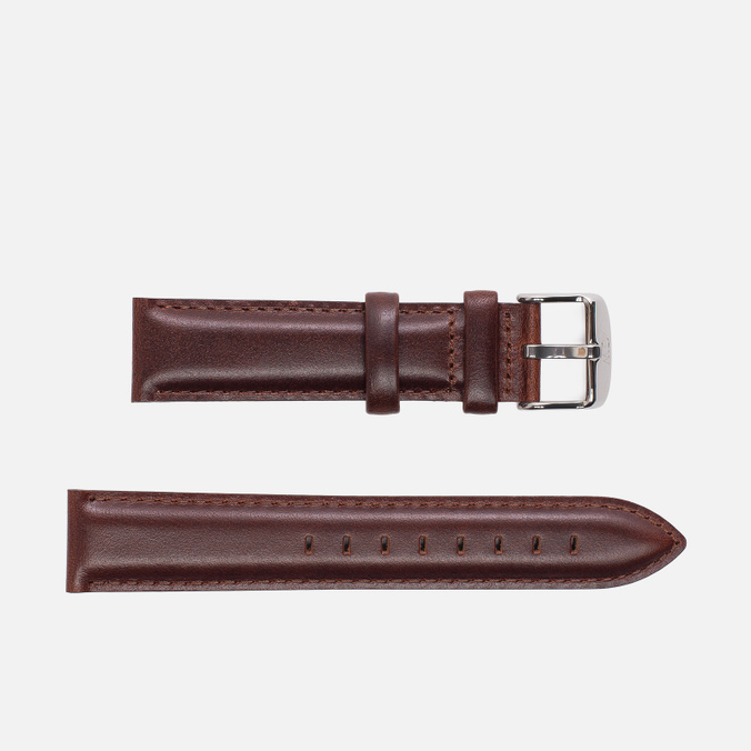 Ремешок для часов Daniel Wellington Dapper St Mawes 19mm Brown/Silver