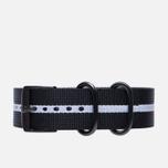Ремешок для часов Luminox FN3950.10H Black/White фото- 0