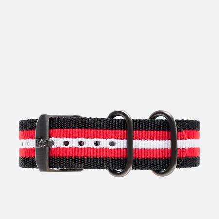 Luminox Strap Alternative FN.3950.31H Watch Strap Black/Red/White
