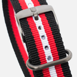 Ремешок для часов Luminox Strap Alternative FN.3950.31H Black/Red/White фото- 1