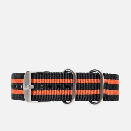 Luminox Strap FN.3950.36Q Watch Strap Black/Orange