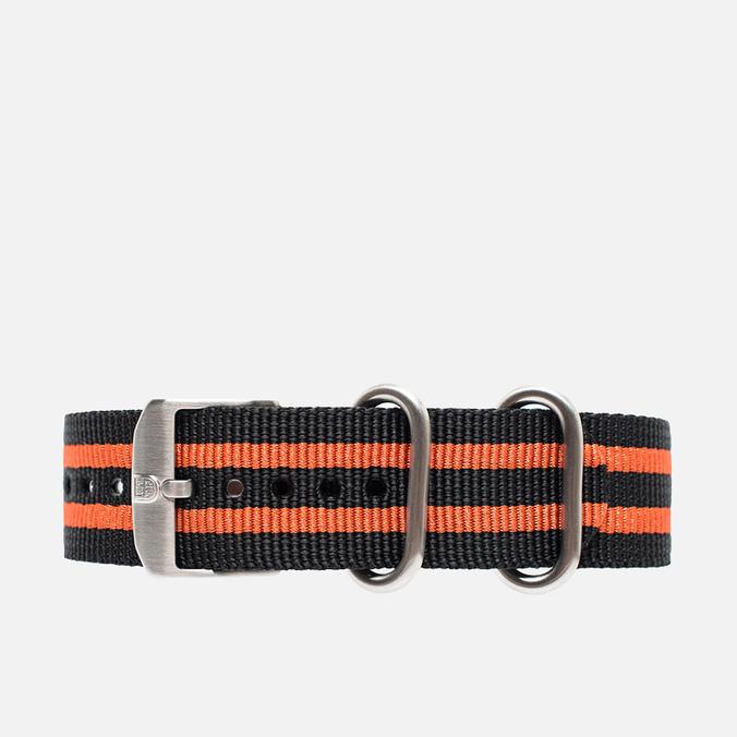 Ремешок для часов Luminox Strap FN.3950.36Q Black/Orange