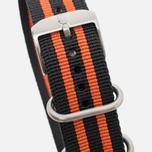 Ремешок для часов Luminox Strap FN.3950.36Q Black/Orange фото- 1