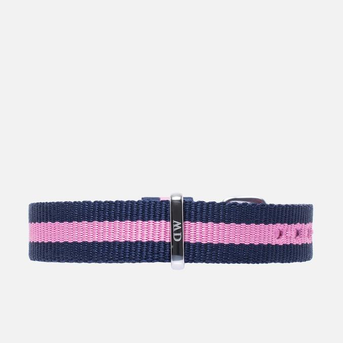 Ремешок для часов Daniel Wellington Winchester Navy/Pink/Silver 13mm