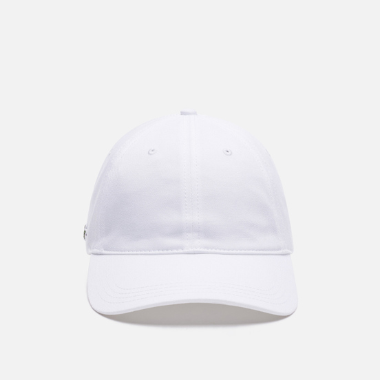 Кепка Lacoste Contrast Strap Cotton White
