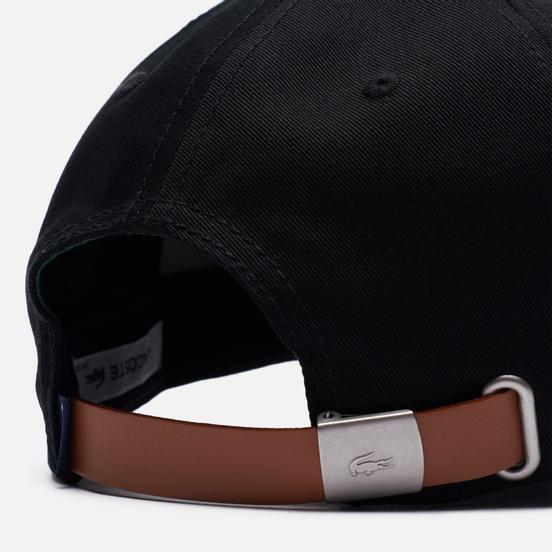 Кепка Lacoste Contrast Strap Cotton Black