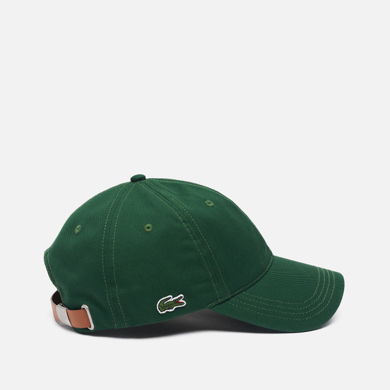 Кепка Lacoste Contrast Strap Cotton Green