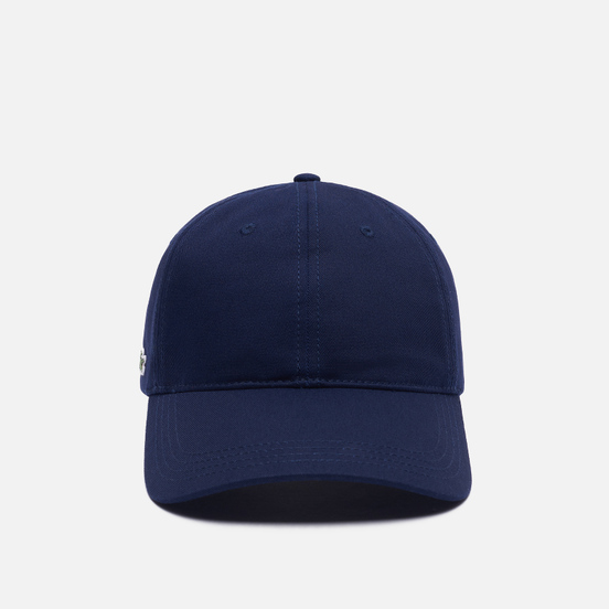 Кепка Lacoste Contrast Strap Cotton Navy Blue