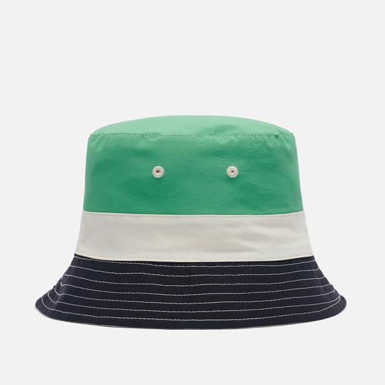Панама Lacoste Lightweight Reversible Colourblock Beige/Navy Blue/Green