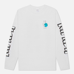 Мужской лонгслив RIPNDIP Fuck Everything White